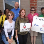 Williamson County Volunteers Enjoy Obamacare Blizzarding Event