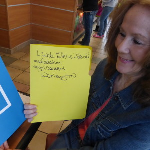 Linda is ready for #OFAction.
