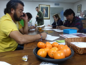 Jesus Valles and naranja-lemons as Knox ends series of calls for reform.   We will continue this important effort.