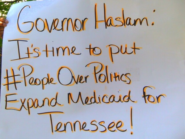 Expanding Medicaid by Paceda of Nashville