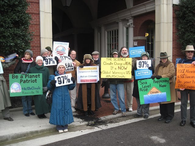TN-Knoxville/Oak Ridge: ActOnClimate Climate Change Press Call